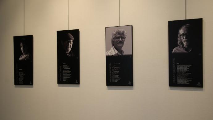 Çağdaş Sanatlar Merkezi'nde Şiirin Yüzleri Ankara sergisi