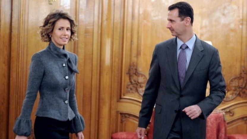 Suriye Devlet Başkanı Beşar Esad ve eşi Esma Esad Covid-19'u yendi