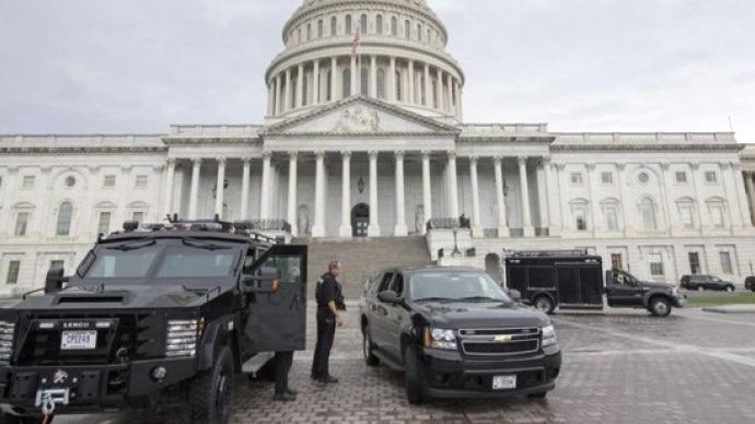 ABD'de Kongre binası giriş çıkışlara kapatıldı