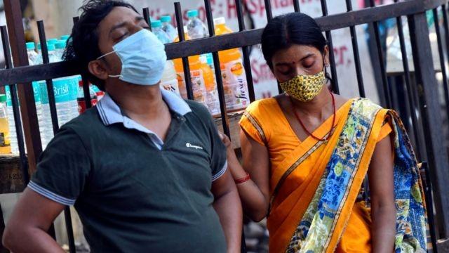 Hindistan'da günlük vaka sayısında dünya rekoru kırıldı