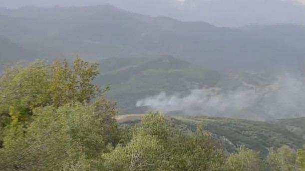 Hozat'ta devam eden yangın yayılıyor