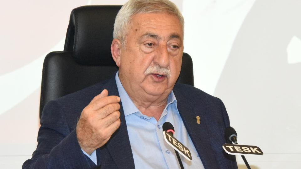 TESK Genel Başkanı Palandöken Erdoğan'dan randevu talep etti