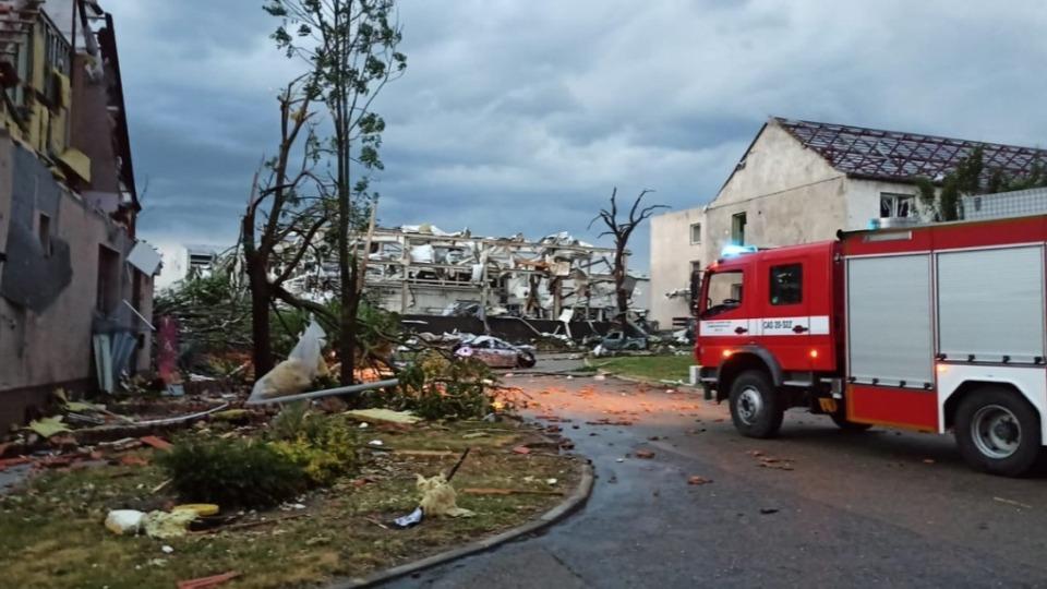 Kasırganın vurduğu Çekya'da ölü sayısı 5'e yükseldi