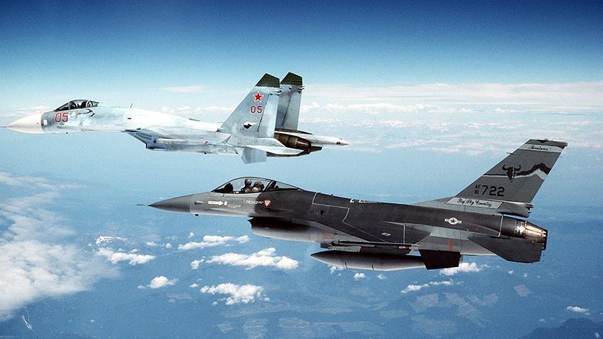 Rus ve ABD savaş uçakları 2 kez karşı karşıya geldi