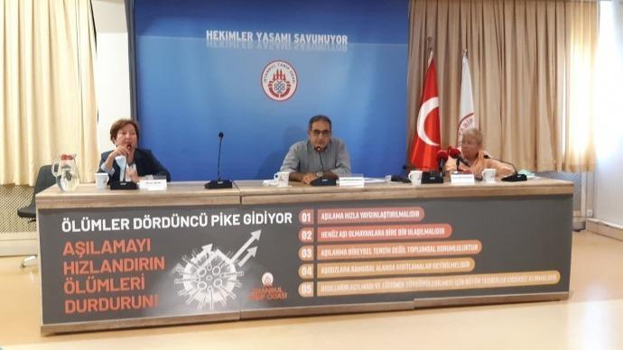 İstanbul Tabip Odası pandemiye dair '5 acil tedbiri' açıkladı