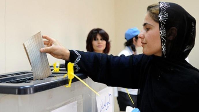 Irak seçimlerinde kadınlar, belirlenen kotayı 14 sandalye ile geçerek 97'ye ulaşmayı başardı
