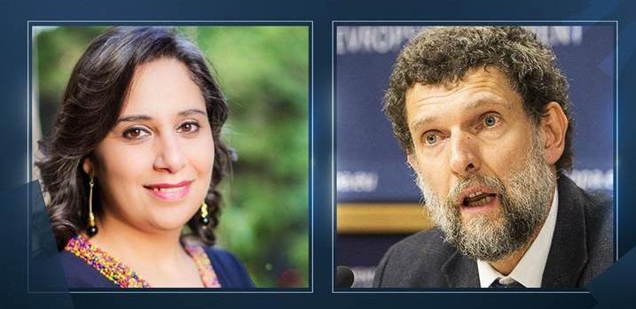 'Hrant Dink Ödülü' Osman Kavala ve Mozn Hassan'a